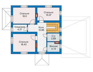 Дом 195 м2 за 2 640 000 рублей