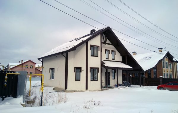 Дома из арболита